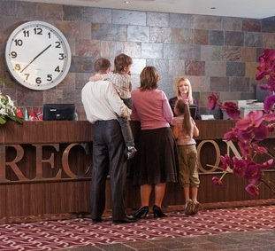 Hotel Reception Customer Service