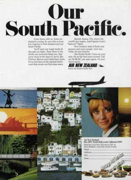 Air NZ South Pacific Ad