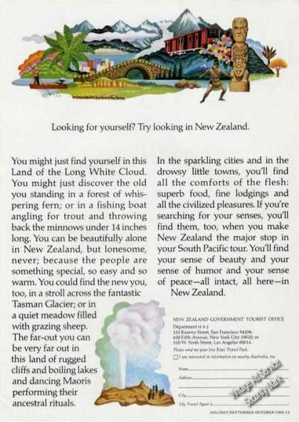 Looking for yourself in New Zealand